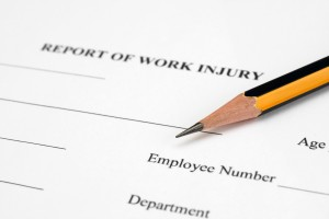 Report of work injury